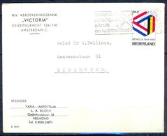 K144- Postal Used Cover. Post From Nederland. Netherlands. - Postal History
