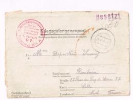 Kriesgsgefangenenpost.Stalag XIII A à Roubaix (France). Marque De Censure. - Deutschland