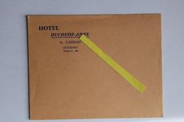Finistère Ouessant Enveloppe Hotel Casseau Parfait état. - Ouessant