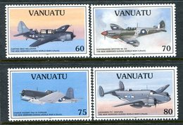 Vanuatu 1995 50th Anniversary Of Outbreak Of The Pacific War - 3rd Issue Set MNH (SG 703-706) - Vanuatu (1980-...)