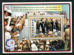 Vanuatu 1995 50th Anniversary Of Outbreak Of The Pacific War - 3rd Issue MS MNH (SG MS707) - Vanuatu (1980-...)