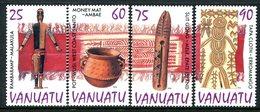 Vanuatu 1995 Culture - 1st Issue Set MNH (SG 708-711) - Vanuatu (1980-...)