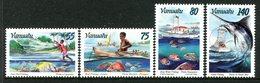 Vanuatu 1996 Fishing Set MNH (SG 712-715) - Vanuatu (1980-...)