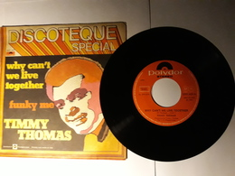 Timmy Thomas  -    Polydor    Anno 1977.  Why Can't We Live Together - Disco, Pop