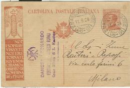 "C.P. ""NOI, I SOPRAVVISSUTI....."" Cent.30,TIMBRO POSTE S.MASSIMO ALL'ADIGE(VERONA),FRAZIONARIO 68-91-RR - Interi Postali"