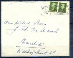 K154- Postal Used Cover. Post From Nederland. Netherlands. - Postal History