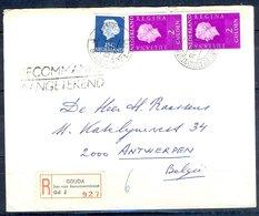 K157- Postal Used Cover. Post From Nederland. Netherlands. - Postal History