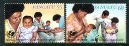 Vanuatu 1996 50th Anniversary Of UNICEF Set MNH (SG 722-723) - Vanuatu (1980-...)