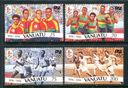 Vanuatu 1996 Centenary Of Modern Olympic Games Set MNH (SG 728-731) - Vanuatu (1980-...)