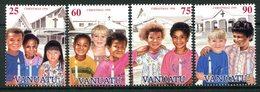 Vanuatu 1996 Christmas Set MNH (SG 732-735) - Vanuatu (1980-...)