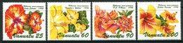 Vanuatu 1996 Hibiscus Flowers - 3rd Issue Set MNH (SG 736-739) - Vanuatu (1980-...)