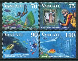 Vanuatu 1996 Diving Set MNH (SG 740-743) - Vanuatu (1980-...)