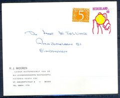 K166- Postal Used Cover. Post From Nederland. Netherlands. - Postal History
