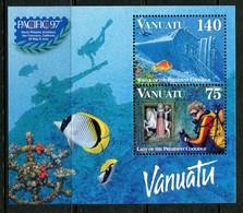 Vanuatu 1997 Pacific '97 Stamp Exhibition MS MNH (SG MS750) - Vanuatu (1980-...)