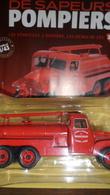 CAMION POMPIER CITERNE GMC CC KW 253    1/ 43 AVEC SON LIVRET - Trucks