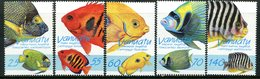 Vanuatu 1997 Angelfish Set MNH (SG 760-764) - Vanuatu (1980-...)