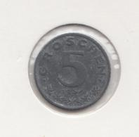 @Y@  OOSTENRIJK  5 Groschen  1957   (3375) - Austria