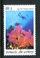 Vanuatu 1998 Scenery Surcharge - 5v On 70v Sea Fan Used (SG 765) - Vanuatu (1980-...)