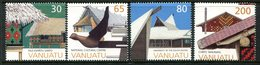 Vanuatu 1998 Local Architecture Set MNH (SG 766-769) - Vanuatu (1980-...)