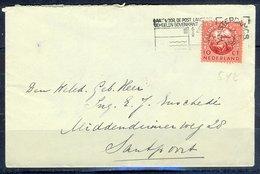 K177- Postal Used Cover. Post From Nederland. Netherlands. - Postal History