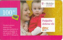CZECH REPUBLIC - Mother & Baby, T Telecom/Twist Prepaid Card 100 Kc, Exp.date 14/12/12, Used - Czech Republic