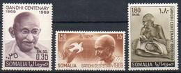 Somalia 1969 MiNr. 152/ 154  **/ Mnh ; 100. Geburtstag Von Mahatma Gandhi - Somalia (1960-...)