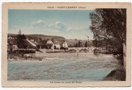 Port Lesney : La Loue En Aval Du Pont (Ets C. Lardier, Besançon, CLB N°20458) - Autres Communes