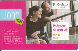 CZECH REPUBLIC - Couple, T Telecom/Twist Prepaid Card 100 Kc, Exp.date 14/12/12, Used - Czech Republic