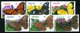 Vanuatu 1998 Butterflies Set MNH (SG 777-782) - Vanuatu (1980-...)