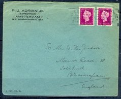 K183- Postal Used Cover. Post From Nederland. Netherlands. - Postal History