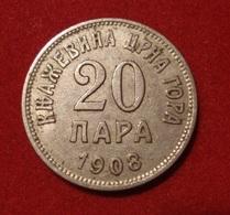 MONTENEGRO. 20 PARA 1908. - Monnaies