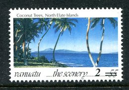 Vanuatu 1998-2000 Surcharges - 2v On 55v Coconut Trees MNH (SG 791) - Vanuatu (1980-...)