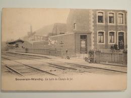 Souverain-Wandre Halte Du Chemin De Fer(Gare-Station) - Liege