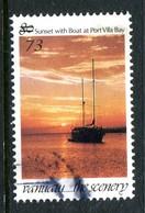 Vanuatu 1998-2000 Surcharges - 73v On 80v Sunset Used (SG 797) - Vanuatu (1980-...)