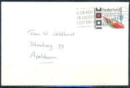 K198- Postal Used Cover. Post From Nederland. Netherlands. - Postal History