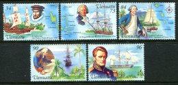 Vanuatu 1999 Explorers Set MNH (SG 798-802) - Vanuatu (1980-...)
