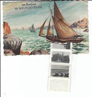 Nieuport Bains - Nieuwpoort Bad Carte à Système (voiliers) - A Systèmes
