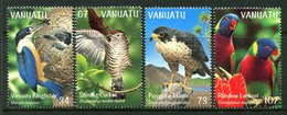 Vanuatu 1999 Birds - Bush & Lowland Birds Set MNH (SG 804-807) - Vanuatu (1980-...)