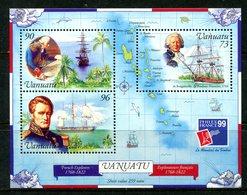 Vanuatu 1999 PhilexFrance '99 Stamp Exhibition MS MNH (SG MS809) - Vanuatu (1980-...)