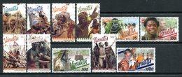 Vanuatu 1999 Dancers Set MNH (SG 810-820) - Vanuatu (1980-...)