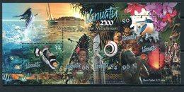 Vanuatu 1999 New Millennium MS MNH (SG MS827) - Vanuatu (1980-...)