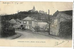 CHATEAUFORT L'Eglise Vue De La Trinité, Dos Simple, Envoi 1903 - Autres Communes