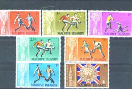 MALDIVES - 1967 Football World Cup UM - Maldives (1965-...)