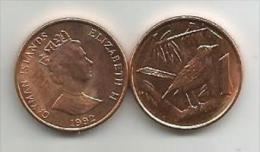 Cayman Islands 1 Cent 1992. High Grade - Kaimaninseln