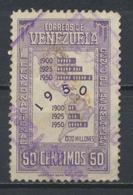 °°° VENEZUELA - Y&T N°308 - 1950 °°° - Venezuela