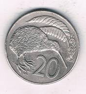 20 CENTS 1986 NIEUW ZEELAND //1327/ - Neuseeland
