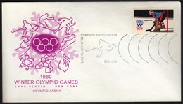 USA Lake Placid 13. 2. 1980 / Olympic Games Lake Placid / Olympic Arena Station, Ice Hockey - Hiver 1980: Lake Placid