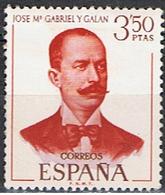 ESPAÑA E 99 // YVERT 1650 //  GABRIEL Y GALAN // 1970 ... NEUF - 1931-Aujourd'hui: II. République - ....Juan Carlos I