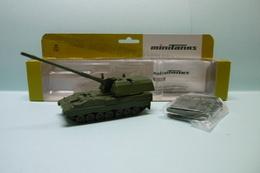 Roco Minitanks - CHAR TANK PzH 2000 OBUSIER Réf. 730 Militaire Neuf NBO HO 1/87 - Véhicules Routiers