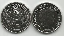 Cayman Islands 10 Cents 2005. High Grade - Cayman Islands